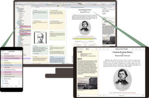Scrivener Write Anywhere